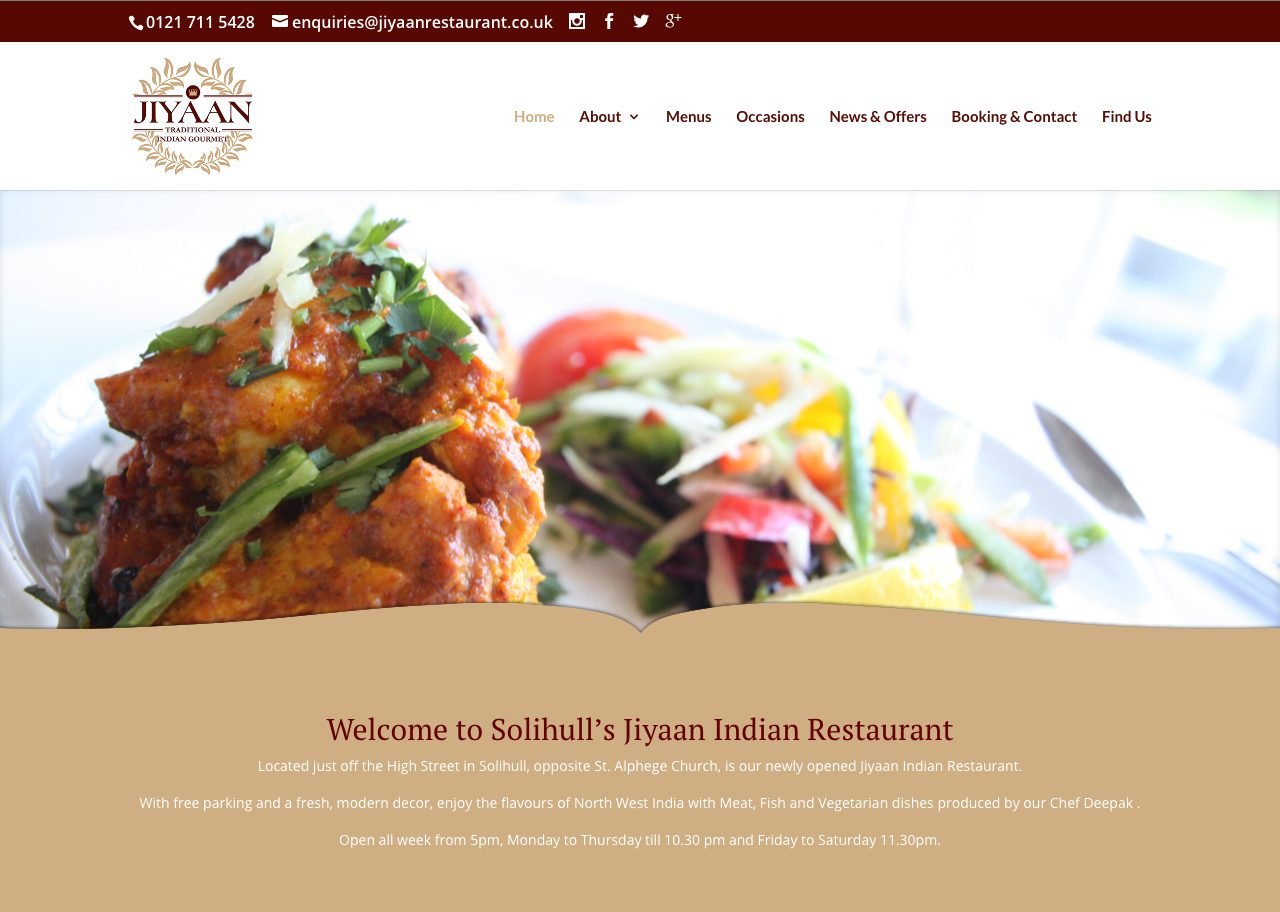 The Jiyaan Indian Restaurant