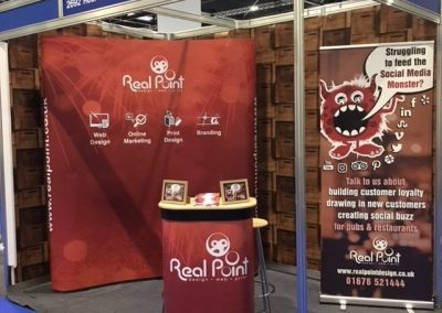 Day one at Restaurant and Bar Tech Live - Real Point Design